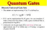 quantum gates63