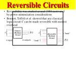 reversible circuits48