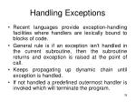 handling exceptions39