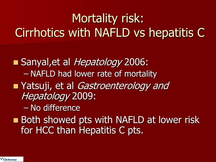 Mortality risk: