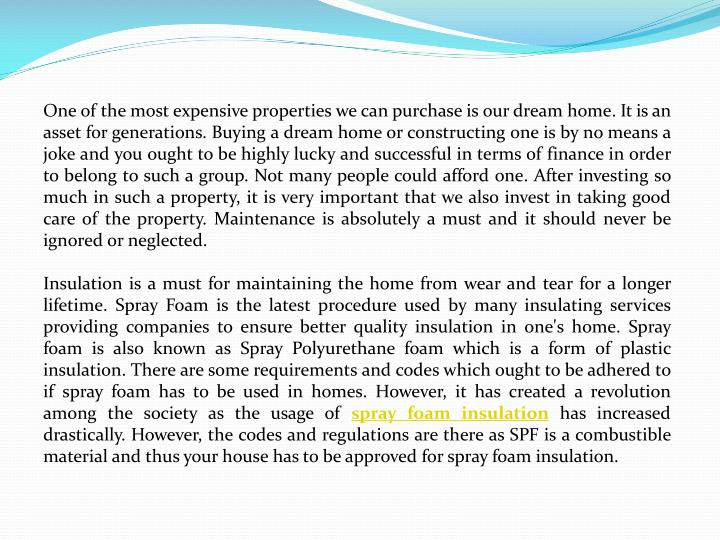 One of the most expensive properties we can purchase is our dream home. It is an asset for generatio...