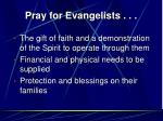 pray for evangelists19