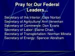 pray for our federal leaders5
