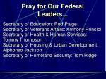 pray for our federal leaders6