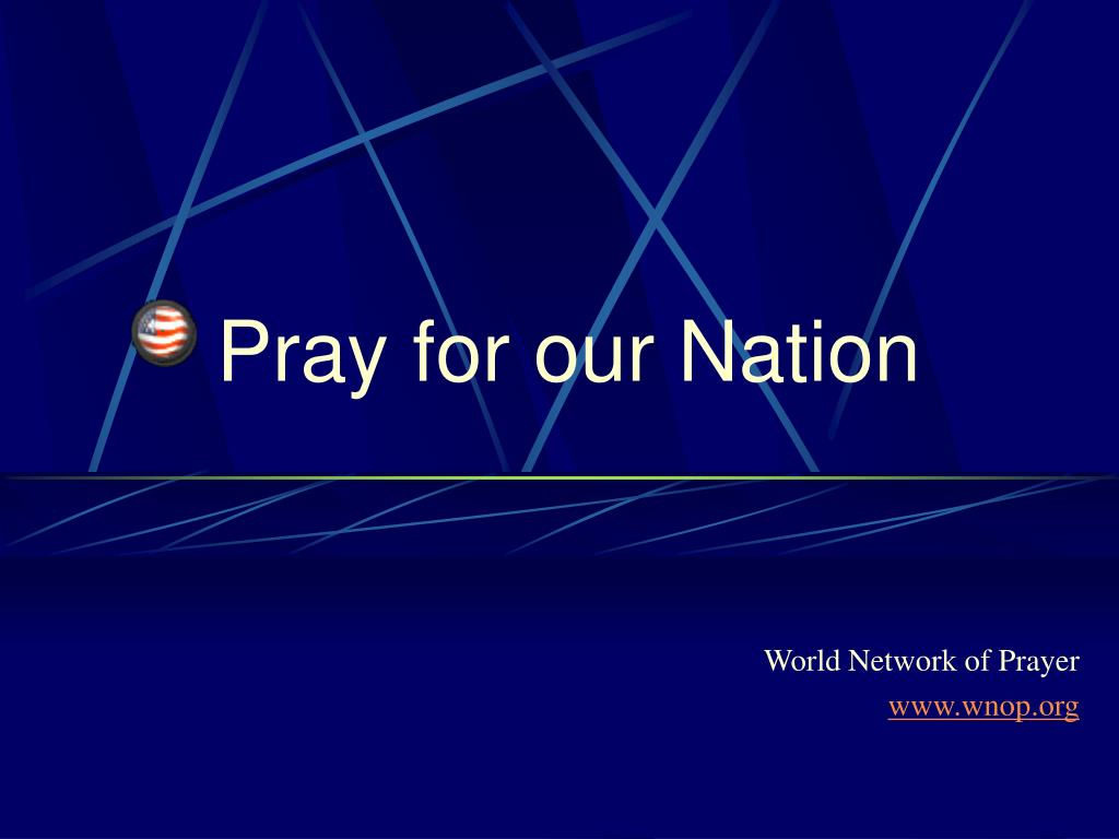 pray for our nation l.
