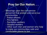 pray for our nation13