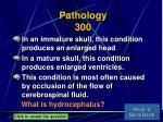 pathology 300