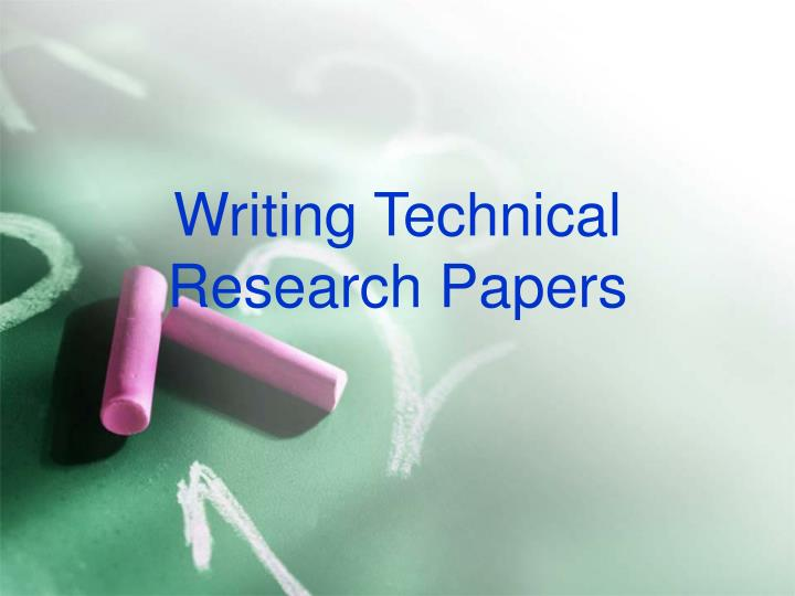research techniques and paper writing The first stage of writing an essay can often be the trickiest here's our guide to carrying out great research for first-class essays.