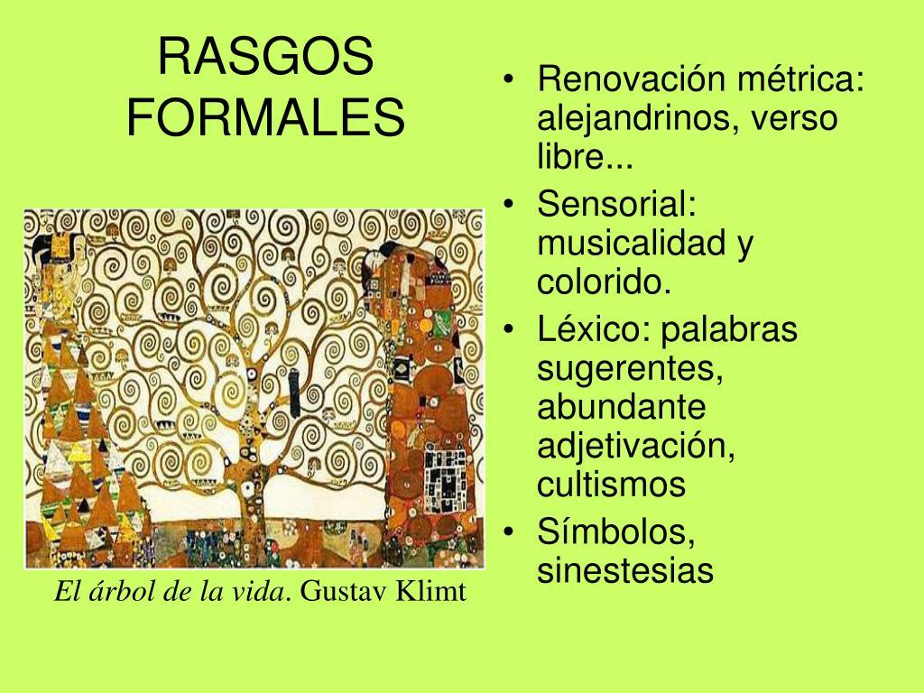 RASGOS FORMALES