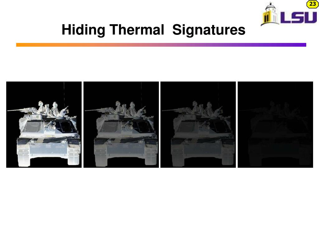Hiding Thermal  Signatures