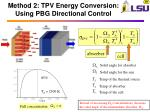 method 2 tpv energy conversion using pbg directional control