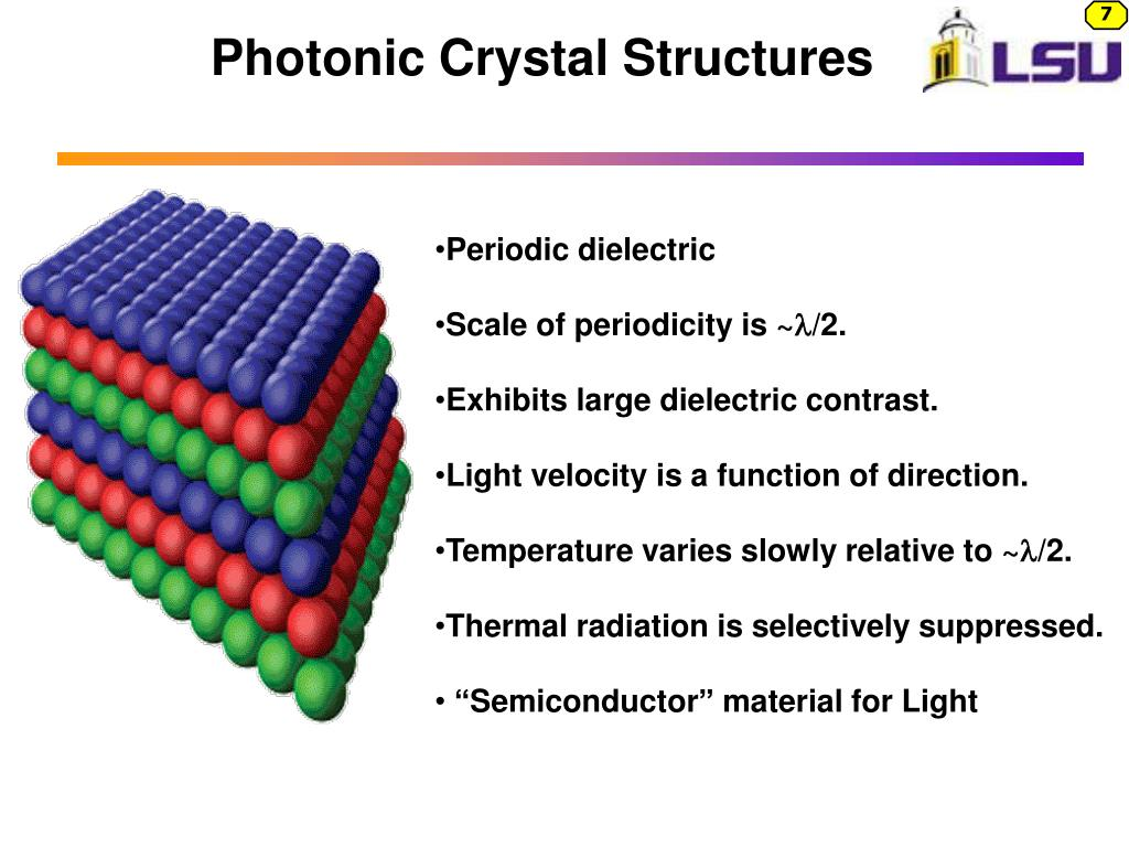 Photonic Crystal Structures