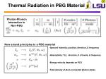 thermal radiation in pbg material