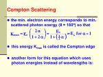 compton scattering18