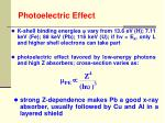 photoelectric effect9