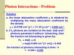 photon interactions problem51