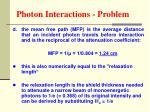 photon interactions problem53