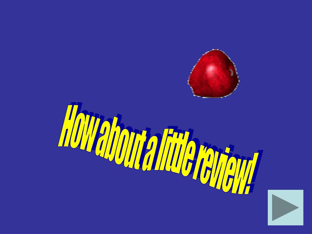 How about a little review!
