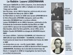 le rabbin lazare liebermann
