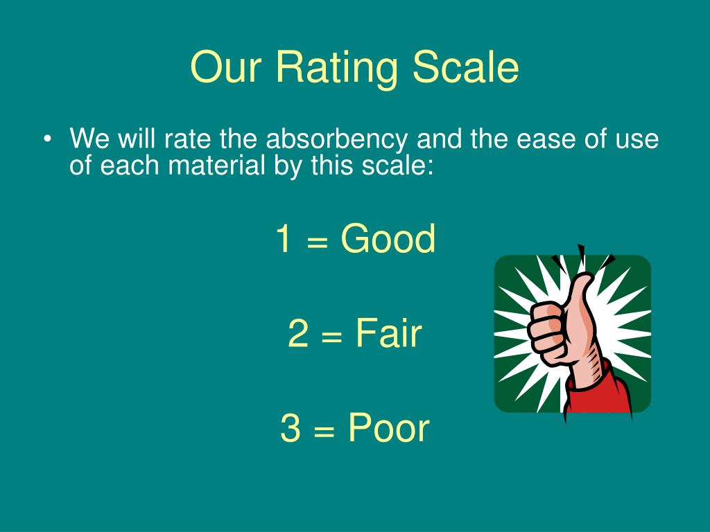 Our Rating Scale