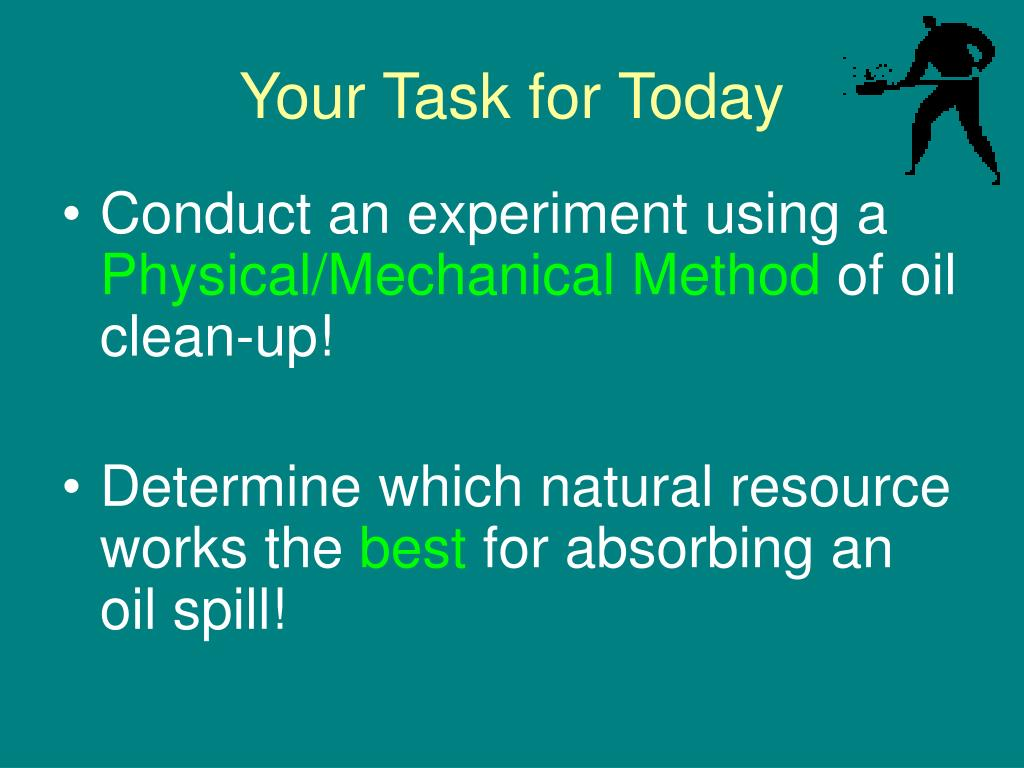 Your Task for Today