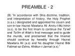 preamble 2