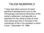 taliqa mubarak 2