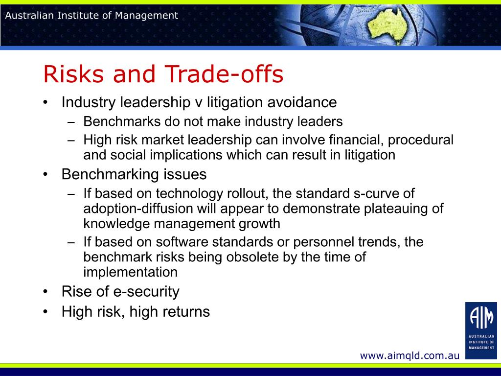Risks and Trade-offs