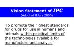 vision statement of ipc adopted 8 july 2006