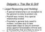 delgado v trax bar grill21