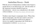 antebellum slavery north