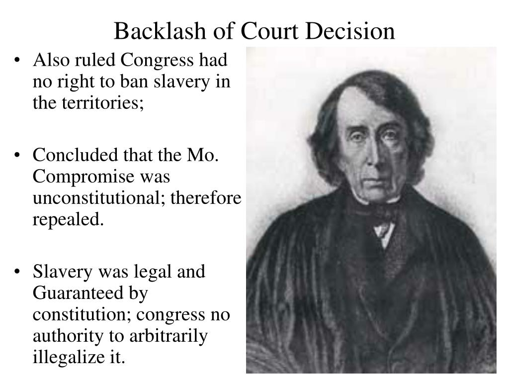 Backlash of Court Decision