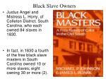 black slave owners33