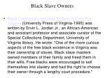 black slave owners35