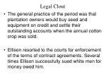 legal clout