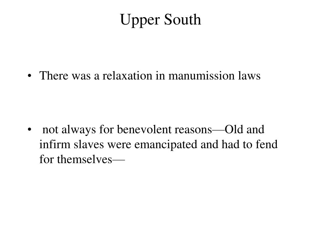Upper South