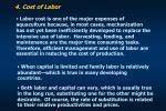 4 cost of labor
