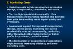 8 marketing costs