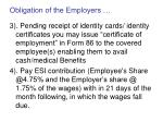 obligation of the employers34