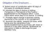 obligation of the employers37
