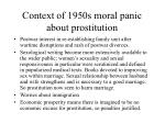 context of 1950s moral panic about prostitution