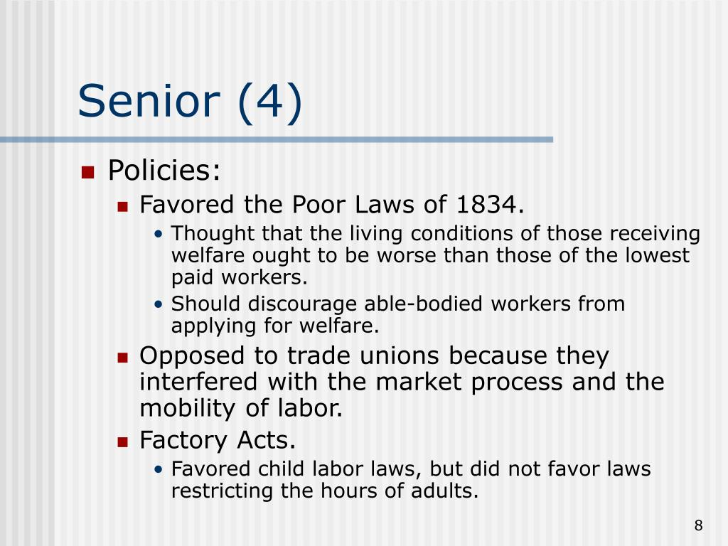 was the poor law of 1834