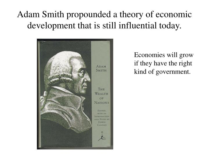 an analysis of adam smiths theory of economic growth The theory of economic growth: a 'classical smith versus the endogenous growth theory 222 ever since the inception of systematic economic analysis at.