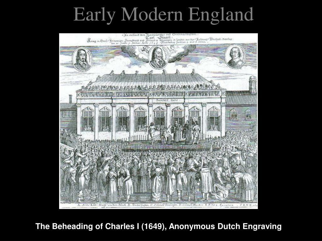 Early Modern England