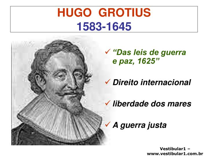 Hugo grotius 1583 1645