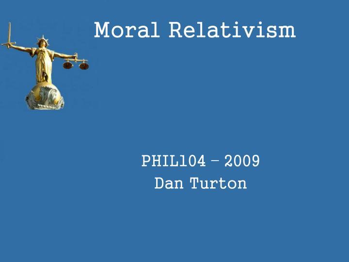 moral relativism n.