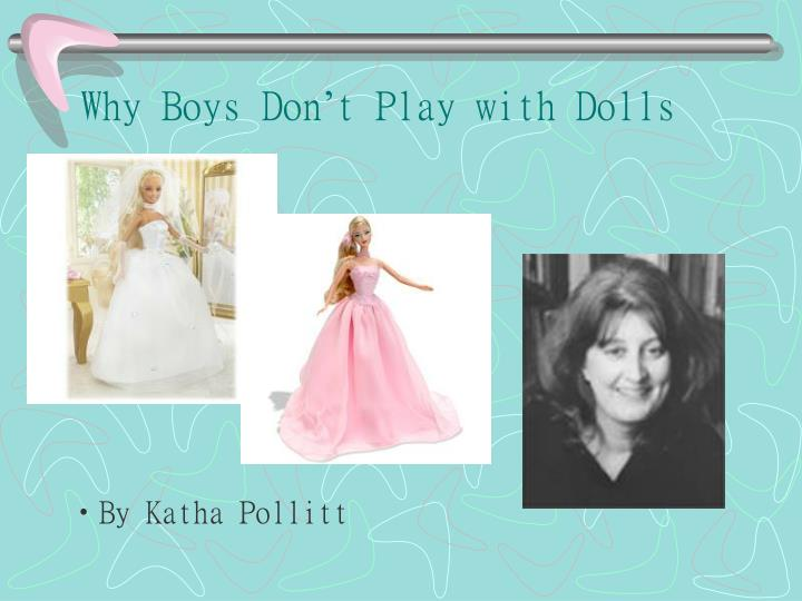 playing with dolls essay