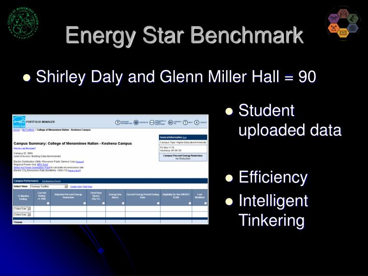 Energy Star Benchmark