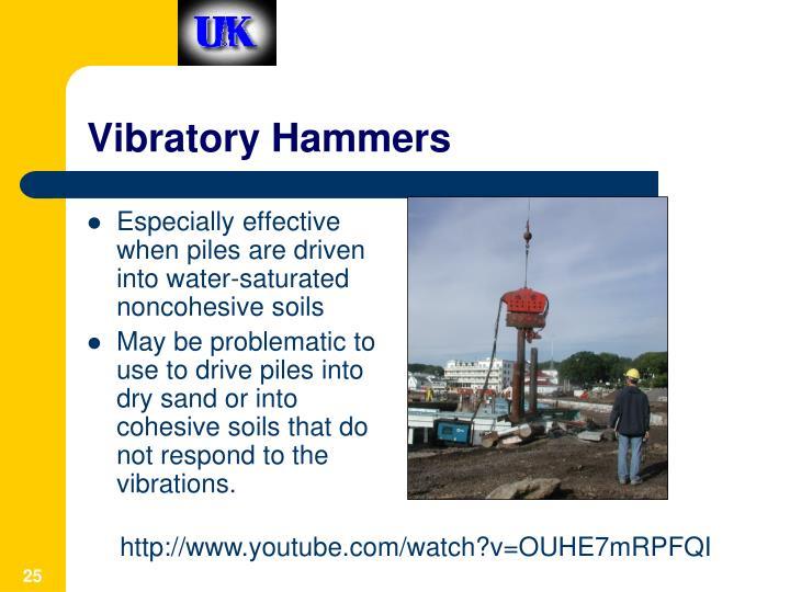 Vibratory Hammers