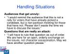 handling situations35